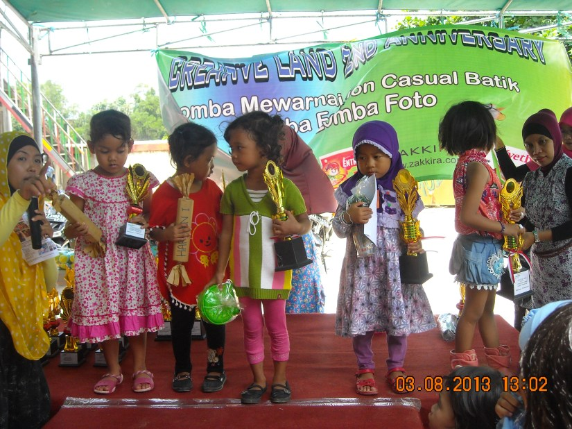 the winner of colouring competition... Congratulation yaa..