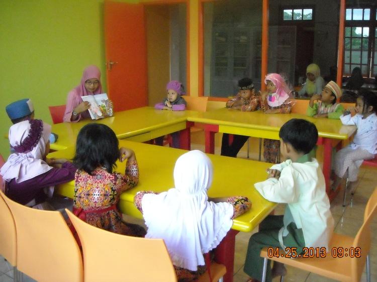Kelas baru yang luas, dengan siswa yg dibatasi hanya 10 siswa/kelas