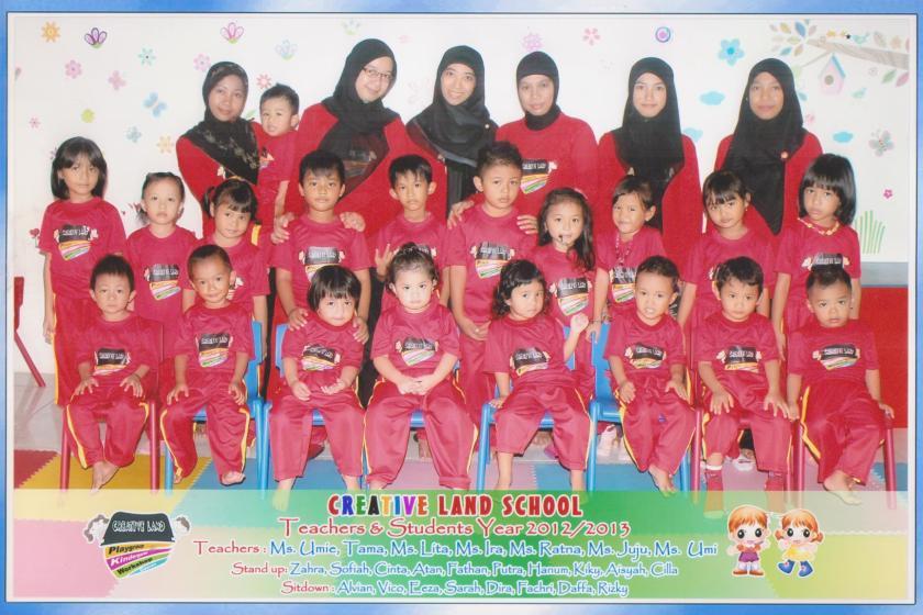 Creative Land Class 2012/2013