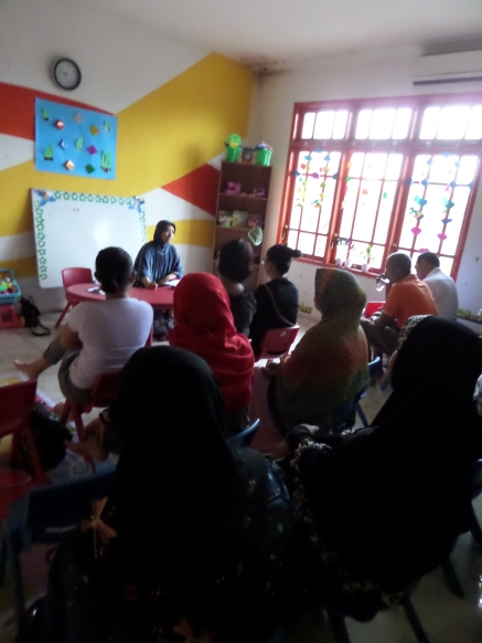 parenting session with Ms Ira