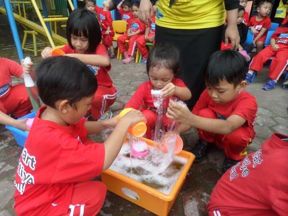 Anak-anak hebat yang mandiri